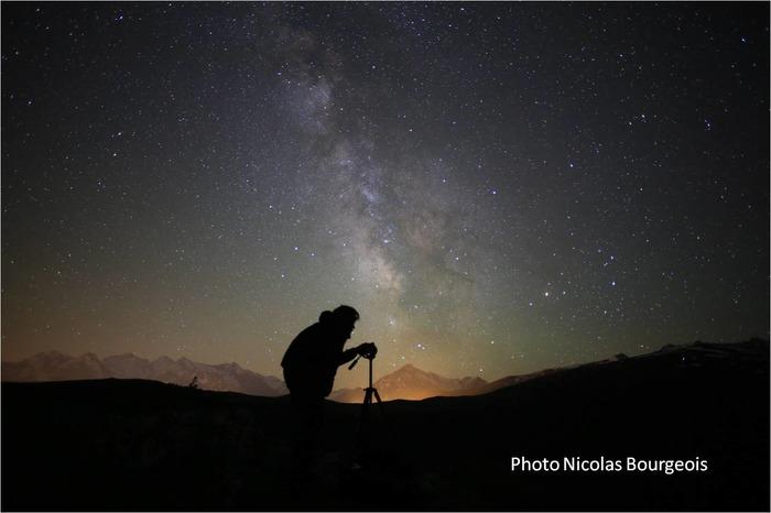 découverte du ciel étoilé